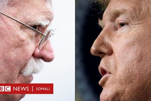 Maxay tahay sababta uu Madaxweyne Trump uga cabsanayo buugga uu qoray John Bolton?