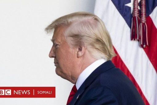 Trump oo u muuqda in uu ka badbaadayo eedeymaha loo haysto