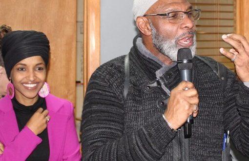 Ilhan Omar takes Bernie Sanders' message to Iowa mosque