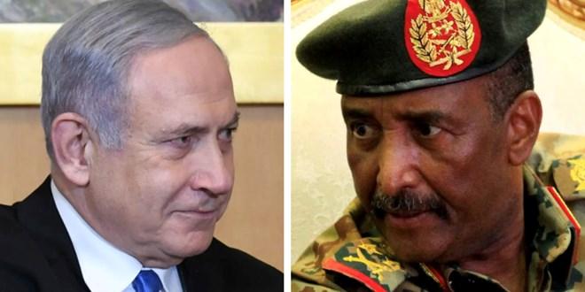 netanyahu-meets-sudan's-leader-in-uganda,-agree-to-start-normalizing-relations-–-israeli-official