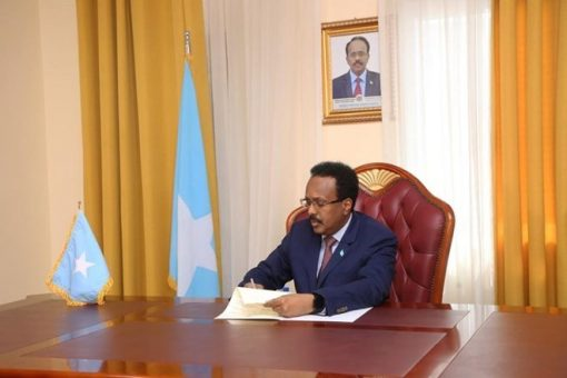 Somali President signs Petroleum Law, Senate approves Elections Law