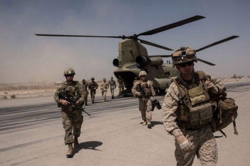Ciidamo Mareykan ah oo lagu laayay dalka Afghanistan