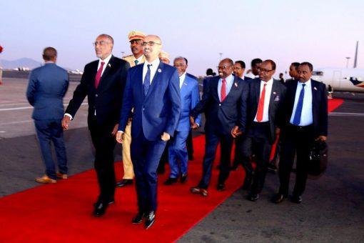 Madaxweyne Biixi  Oo Si Diiran Loogu Soo Dhaweyay Magalada Addis Ababa Ee Dalka Itoobiya ( SAWIRRO )