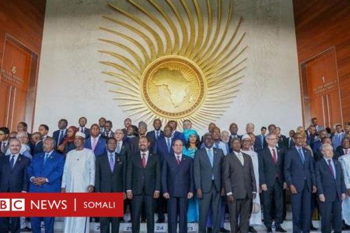 Soomaaliya maxay la tageysaa shir madaxeedka Midowga Afrika?