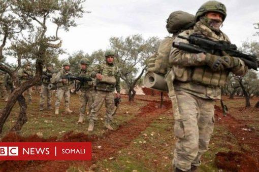 Ciidamada dowladda Suuriya oo mar kale laayay askar Turki ah