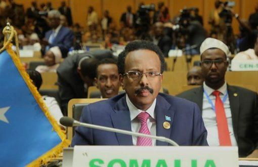 Arms embargo stifling our efforts to fight terrorism, Farmaajo tells AU meeting