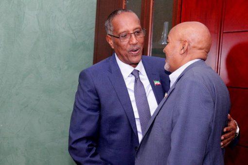 Madaxweyne Biixi Iyo Guddoomiye Cirro Oo Xalay Ku Kulmay Addis Ababa, Maxayse Ka Wada Hadleen ?