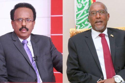Farmaajo iyo Muuse Biixi oo ku kulmay Addis Ababa