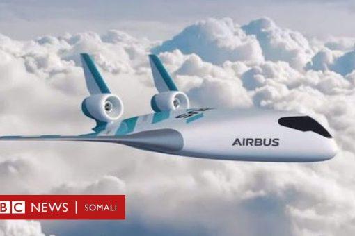 Shirkadda Airbus oo naqshadeysay nooc cusub oo diyaarad ah