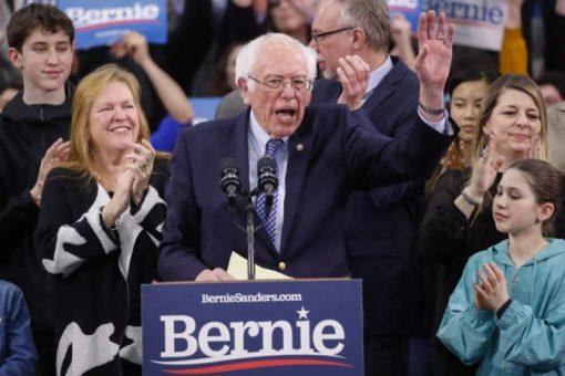 Sanders oo ku guuleystay doorashadii New Hampshire