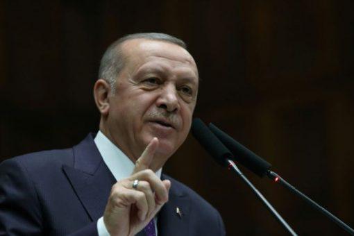 Erdogan oo ku hanjabay tallaabo ka dhan ah Syria