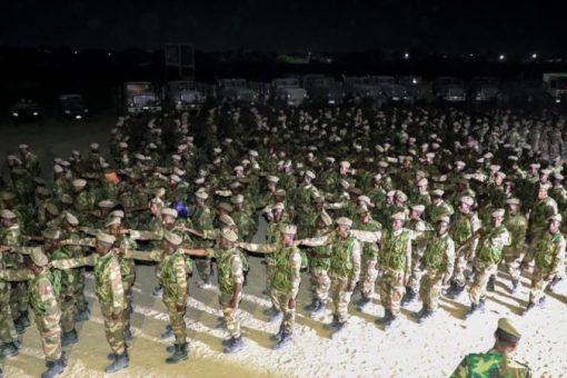 Mareykanka oo dib u billaabay taageerada militariga Somalia
