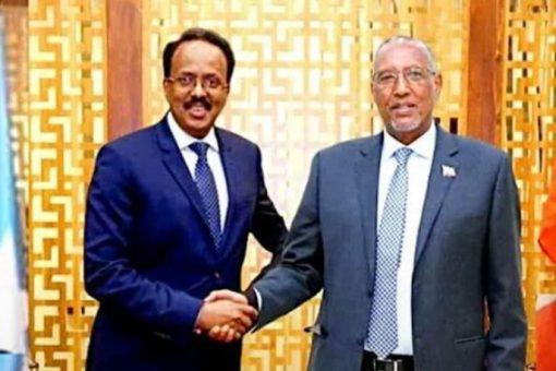 Madaxtooyada Somaliya Oo War kasoo Saartay Kulankii Dhex-maray Farmaajo iyo Muuse Biixi.