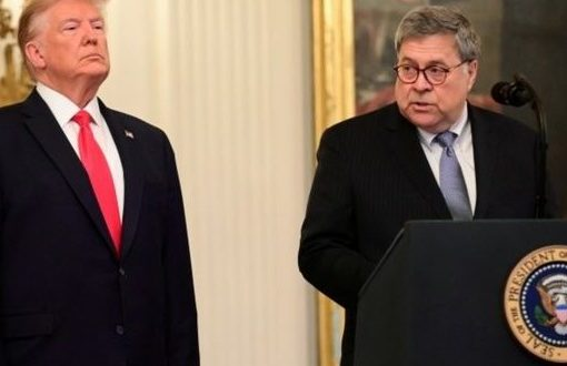 William Barr: Trump tweets make my job 'impossible'
