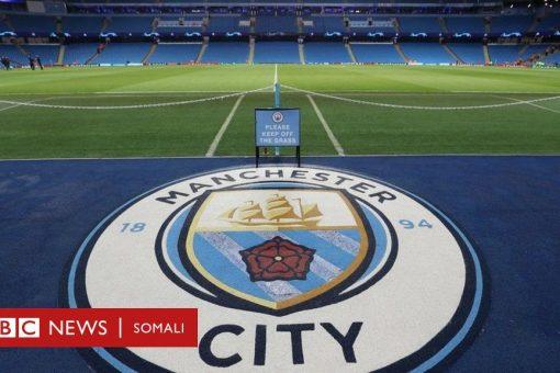 Manchester City oo laga mamnuucay tartannada naadiyada Yurub laba xilli ciyaareed