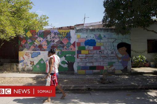 'Magaaladii Haweenka': goob ay isugu tageen haweenkii rabshadaha Colombia saameeyeen