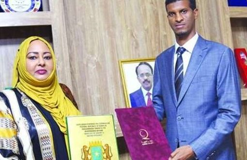 Somalia's energy and water ministry, sign pact with QC