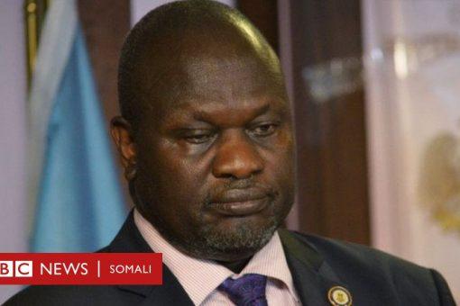 Riek Machar : Lama dhacsani qorshaha Salva Kiir ee gobollada dalka lagu dhimayo