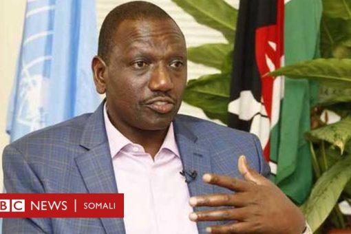 Fadeexadda Qalabka Milatariga: Nin isticmaalay xafiiska madaxweyne ku xigeenka Kenya