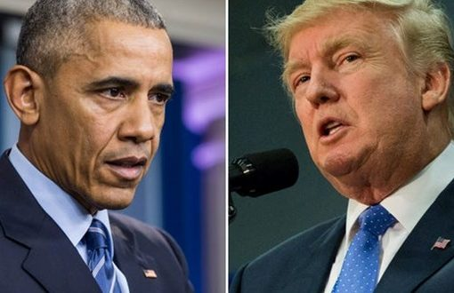 Trump rejects Obama taking credit for strong economy