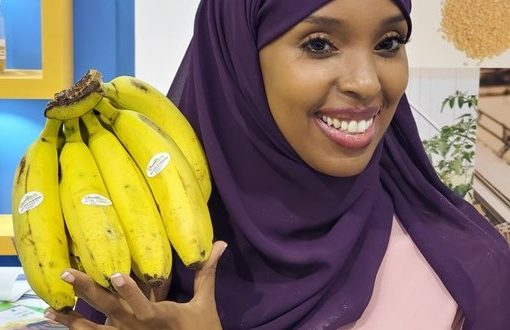 About 50 Somali agricultural and fisheries exhibitors attend the Gulf Food Fair
