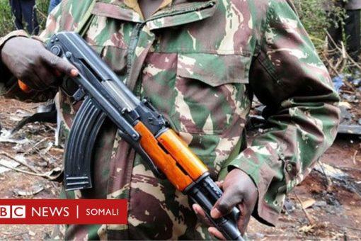 """Askari Kenyan ah """"oo nus doolar u dilay qof rayid ah"""""""