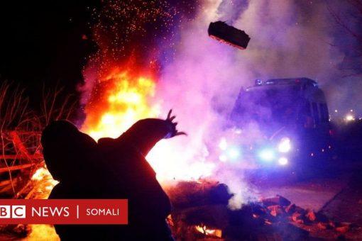 Ukraine: Dad laga soo celiyey Shiinaha oo shacab cadhaysani basaskii siday weerareen