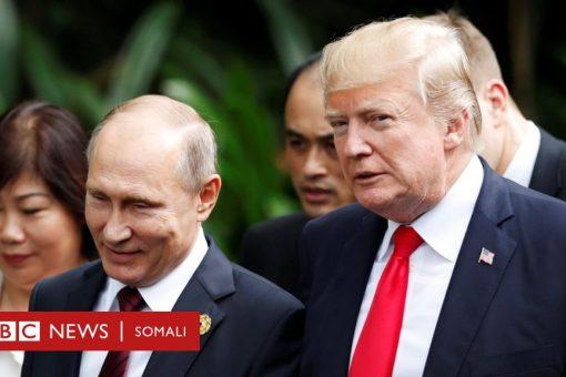 Ruushka 'wuxuu faragalinayaa doorashada Mareykanka, si mar kale loo doorto Trump'