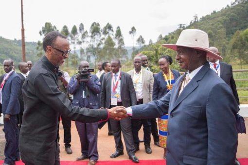 Kagame, Museveni meet at Gatuna border