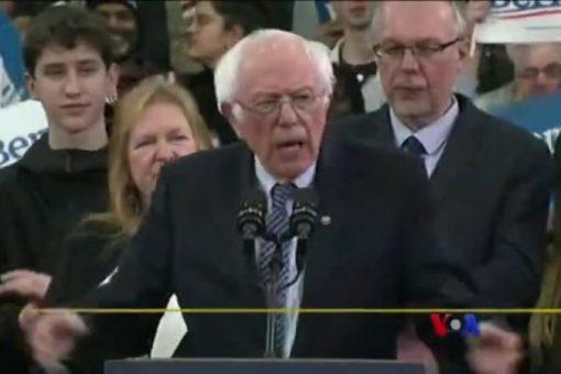 Bernie Sanders oo ku Guuleystay Doorashadii Nevada