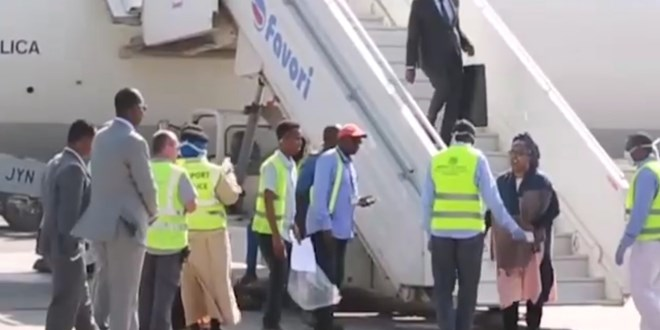somali-sports-minister-shrugs-off-corona-virus-test-upon-arrival-from-egypt