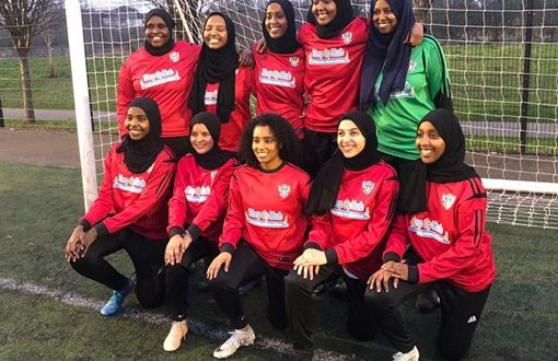 The British Somali player who started a club for women of color | Football