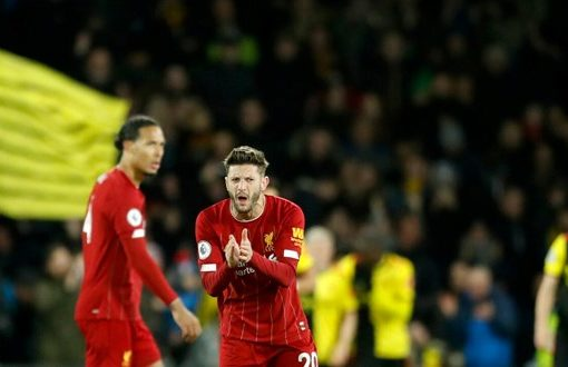Liverpool slumps to 1st loss of EPL season, 3-0 at Watford