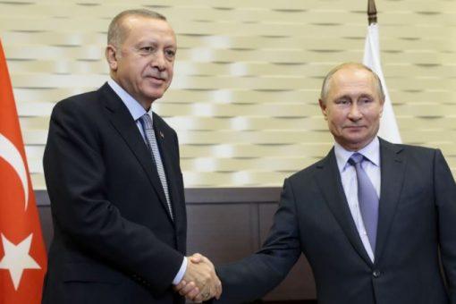 Erdogan iyo Putin oo xal u raadinaya xiisadda Idlib