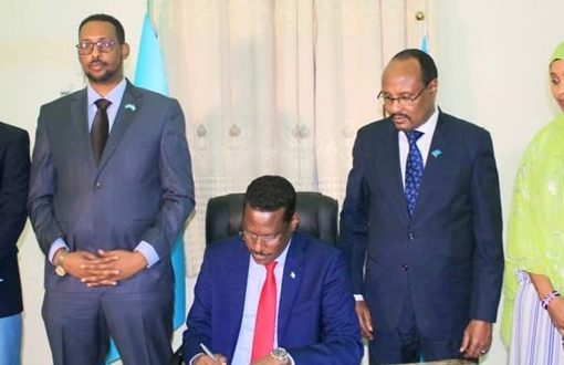 Galmudug president approves $17 million for 2020 budget