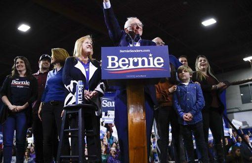 Sanders wins top prize, California; Biden surges nationwide