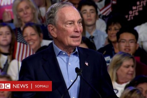 Michael Bloomberg, musharixii khasaariyay nus bilyanka doollar