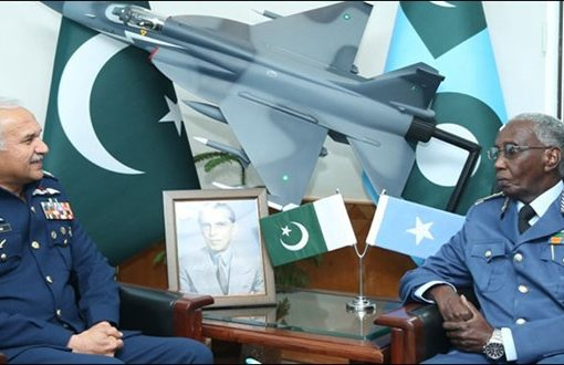 PAF chief, Somali Air Force commander discuss bilateral ties