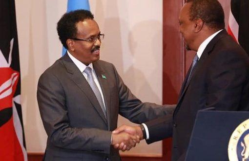 Farmaajo, Kenyatta dial down tension in phone call after bitter exchanges