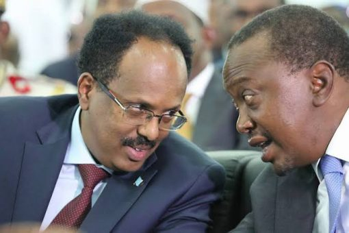 Madaxweyne Farmaajo iyo dhiggiisa Kenya oo khadka taleefanka ku wada-hadlay