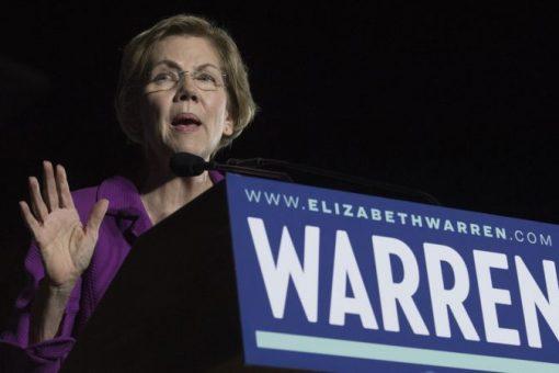 Warren oo ka hartay tartanka doorashada Mareykanka