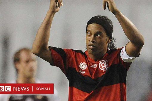 Ronaldinho oo loo xiray baasaboor been abuur ah oo uu ku safrayay
