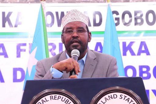 KISMAYO: Nuxurka khudbadii uu maanta jeediyey Axmed Madoobe