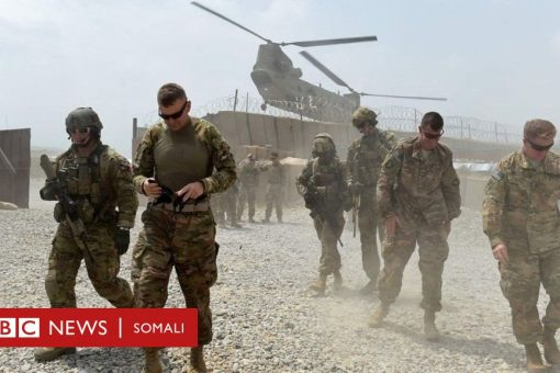 Khilaaftka Afghanistan:Maraykanka oo ciidammadiisa la baxaya
