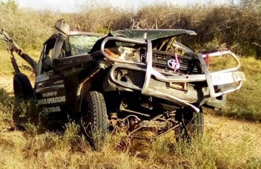 Three people killed after ambulance runs over IED in Garissa