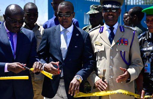 AMISOM hands over OPD near Halane to the govt of Somalia