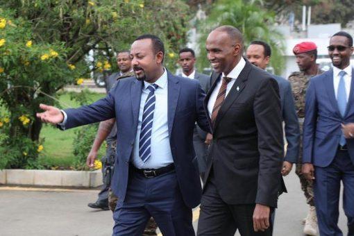 Ra'iisul wasaare Khayre oo kulan la qaatay dhiggiisa dalka Ethiopia