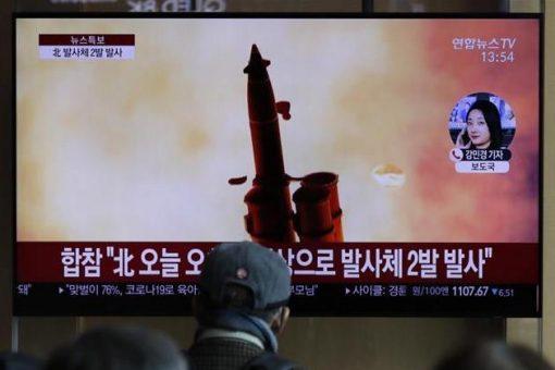 North Korea fires missiles amid coronavirus pandemic