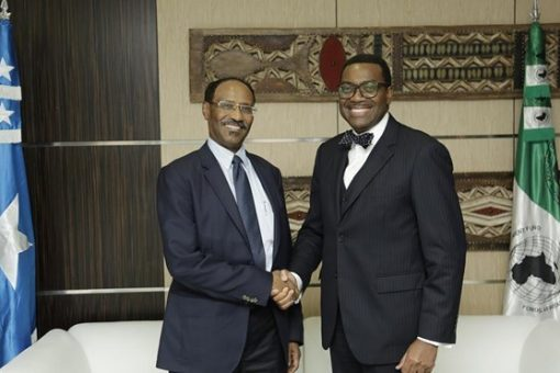 Boost for Somalia as UK, EU offsets $123m arrears to AfDB