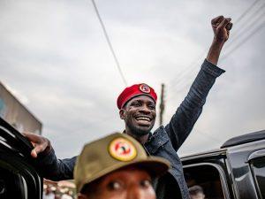 'under-siege':-uganda's-bobi-wine-says-military-raids-home